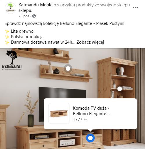 Sprzedaż na Facebooku