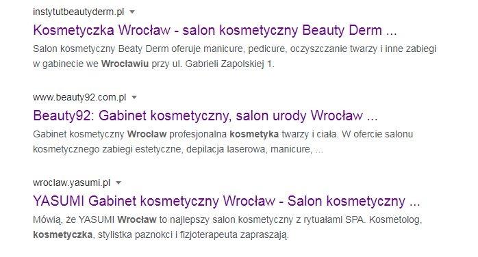 kosmetyczka wrocław