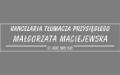 Małgorzata Maciejewska Tłumacz przysięgły