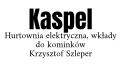 Kaspel Krzysztof Szleper. Hurtownia elektryczna, wkłady do kominków.