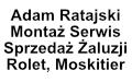 Adam Ratajski Montaż Serwis Sprzedaż Żaluzji, Rolet, Moskitier