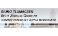 Zdrzalik-Grobelna Beata, mgr Biuro tłumaczeń języka niemieckiego