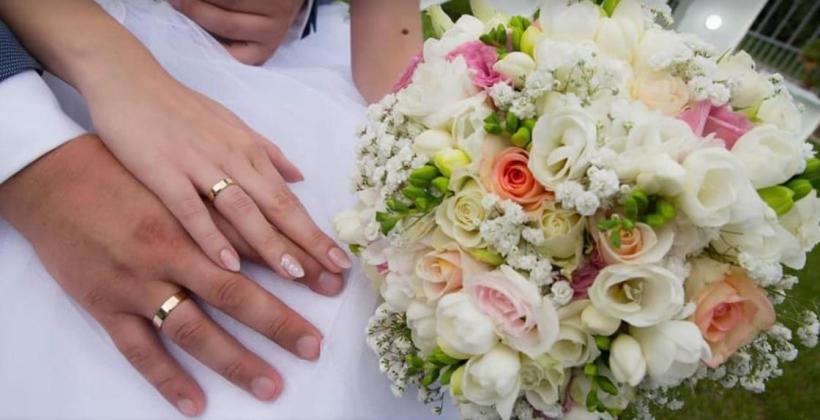 Ślubne wiązanki i dekoracje.