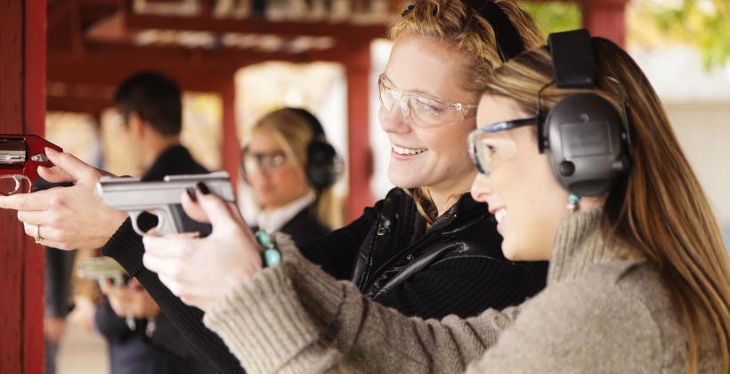 Impreza strzelecka - pomysł na integrację pracowników i uczniów