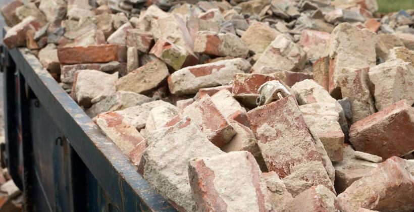 Recykling odpadów budowlanych