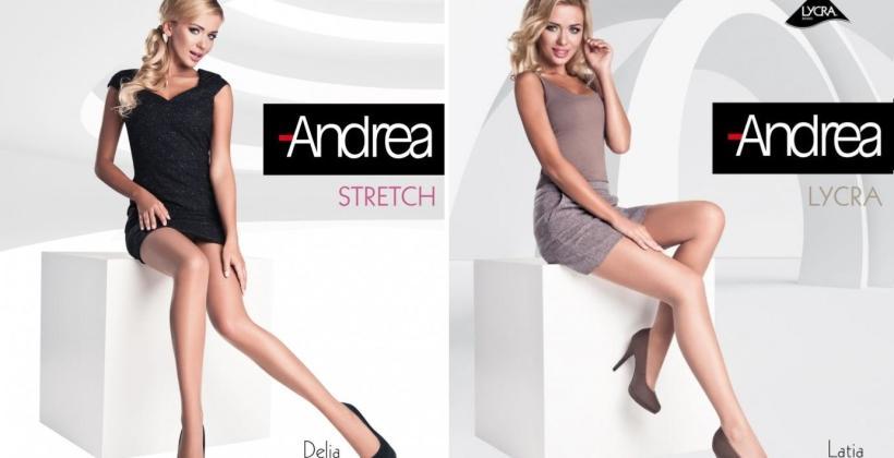 Czym charakteryzują się rajstopy firmy Andrea?
