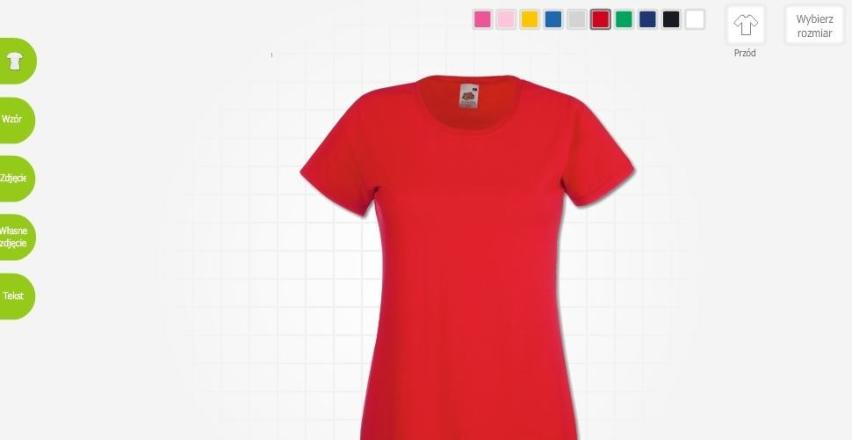 Stwórz koszulki z własnym wzorem już teraz!