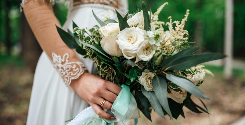 Bukiet ślubny – najnowsze trendy