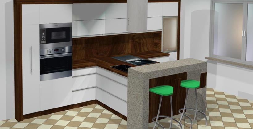 Projektowanie kuchni na wymiar – nowoczesne wizualizacje