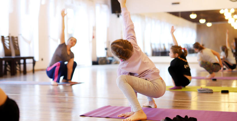 Aktywność fizyczna od najmłodszych lat
