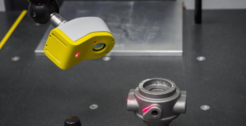 Przegląd najlepszych laserowych głowic skanujących Nikon, wykorzystywanych w metrologii przemysłowej
