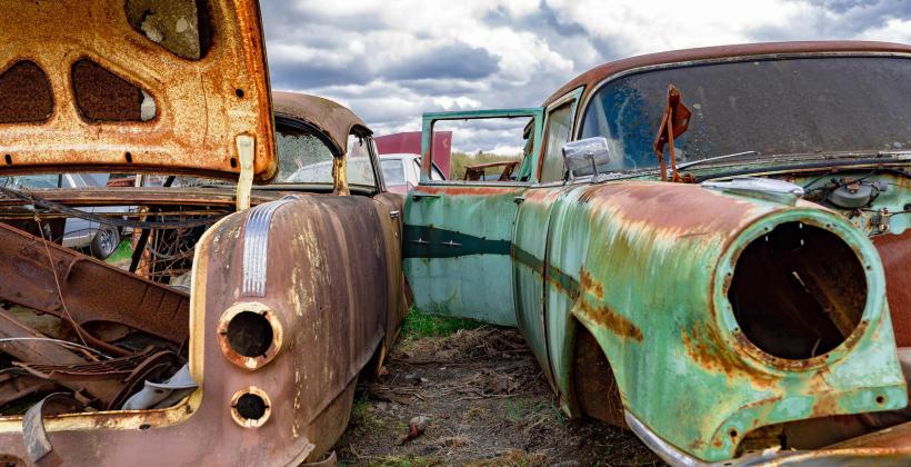 Stare auto – kiedy oddać na złom?