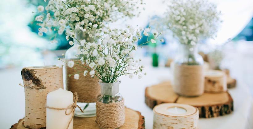 Ciekawe i niebanalne dekoracje na ślub i wesele