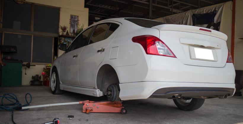 Na czym polega naprawa zawieszenia pneumatycznego?