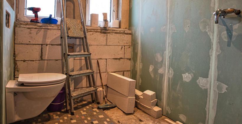 Sprawny i szybki remont łazienki