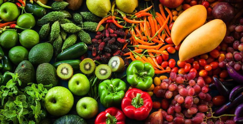 Wpływ pochodzenia warzyw i owoców na zdrowie człowieka.