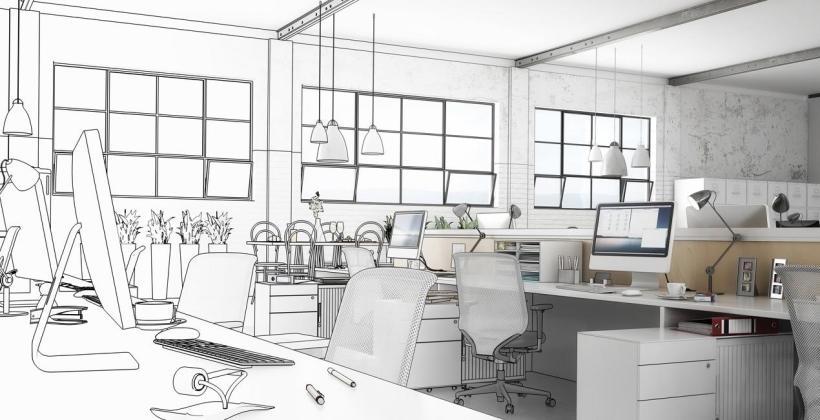 Zalety powierzenia zaprojektowania biura zewnętrznej firmie