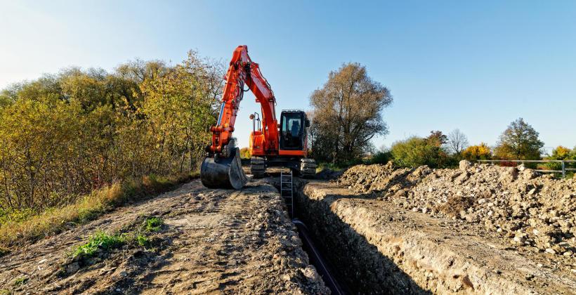 Przygotowanie terenu pod budowę domu z ogrodem