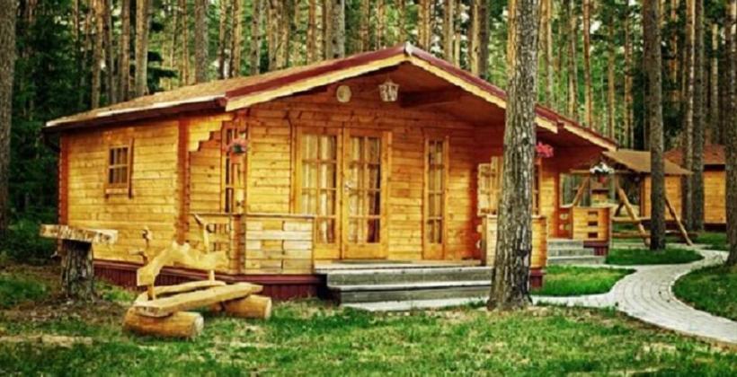 Wybuduj mały domek letniskowy z drewna!