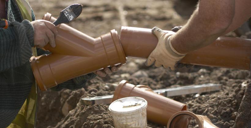 Elementy instalacji kanalizacyjnej