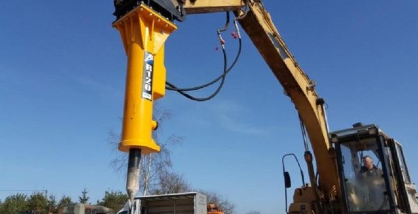 Budowa młotów hydraulicznych