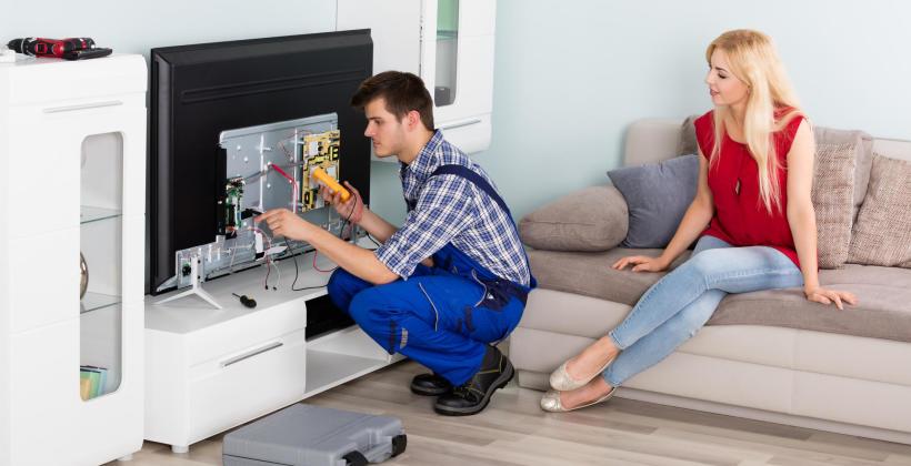 Co wiesz o naprawie telewizorów typu plazma, LED i LCD?