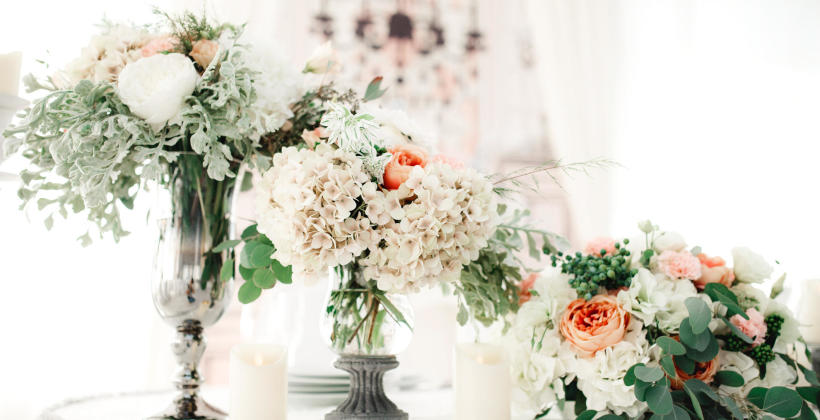Ślub i wesele w pięknej oprawie florystycznej