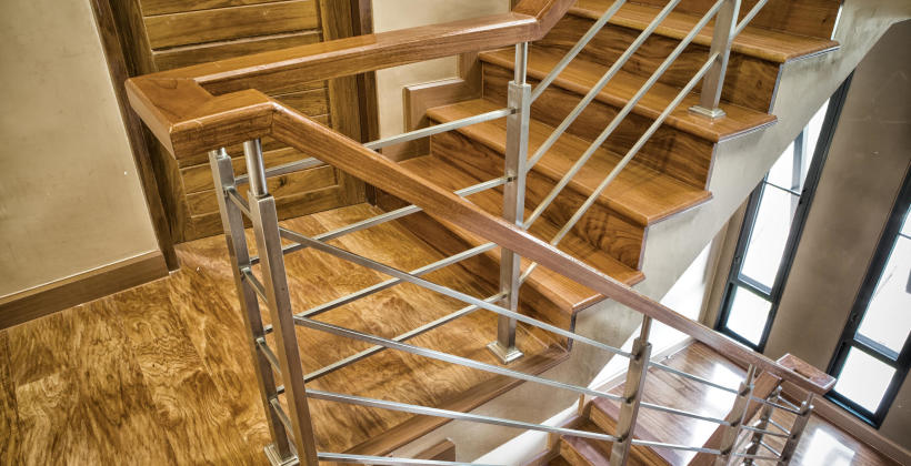 Nowoczesne poręcze dla schodów w Twoim domu!