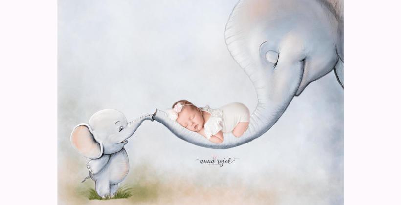 Pamiątkowe fotografie w ciąży i tuż po urodzeniu dziecka