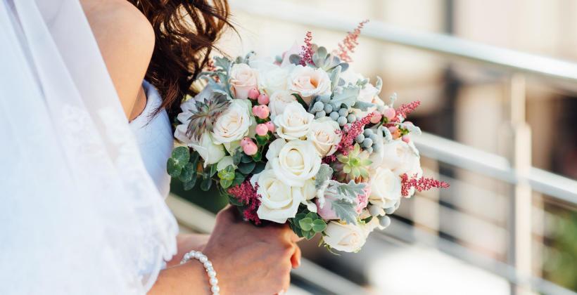 Kwiaty na wesele to nie tylko bukiet