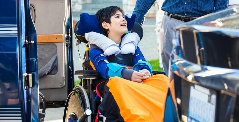 Wymagania dotyczące przewozu osób na wózkach inwalidzkich