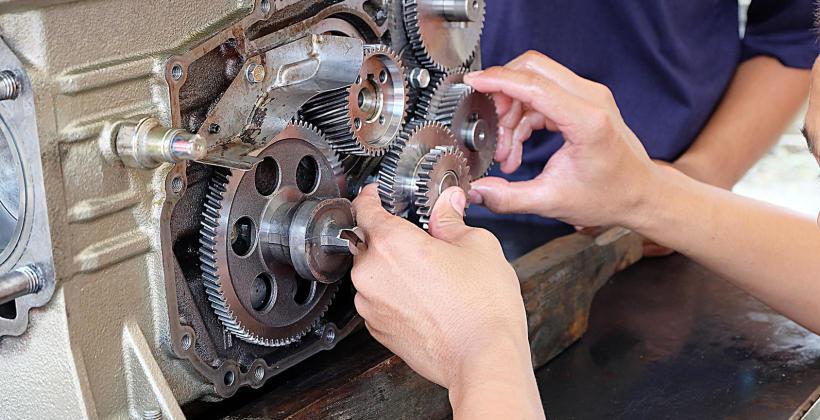 Budowa manualnej skrzyni biegów