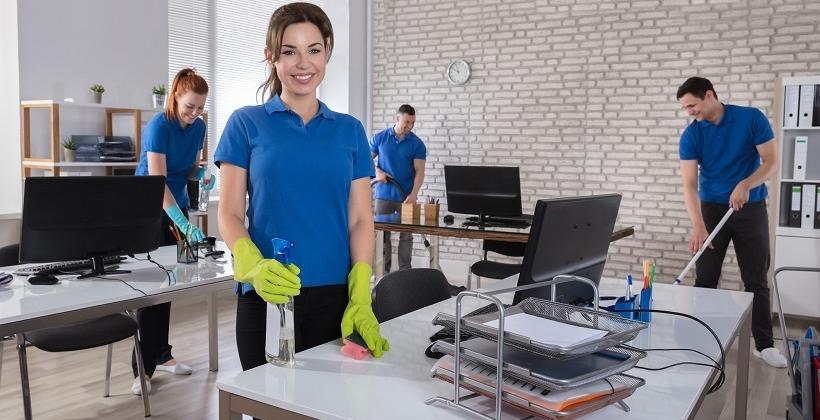 Usługi sprzątające jako rozwiązanie dla firm