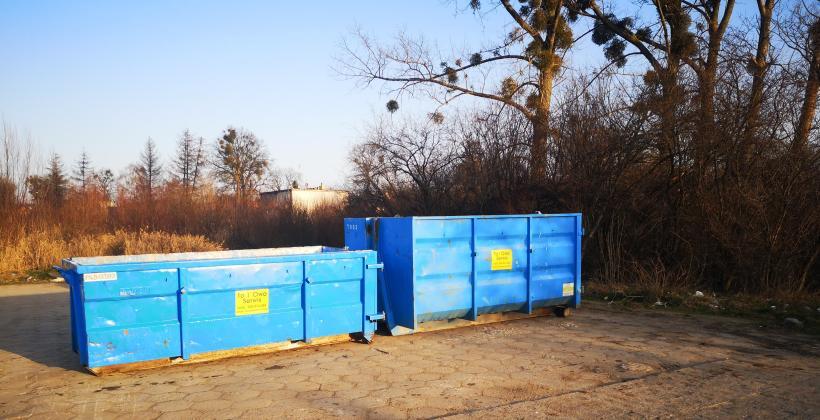 Wynajem kontenerów śmieciowych,wywóz odpadów