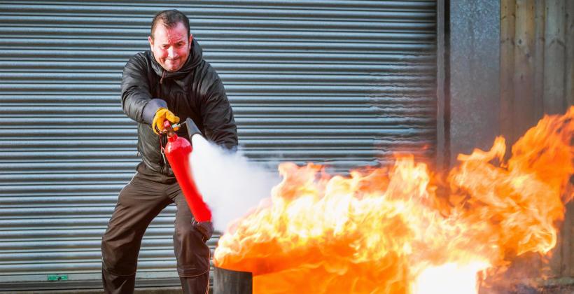 Bezpieczeństwo pożarowe w budynku
