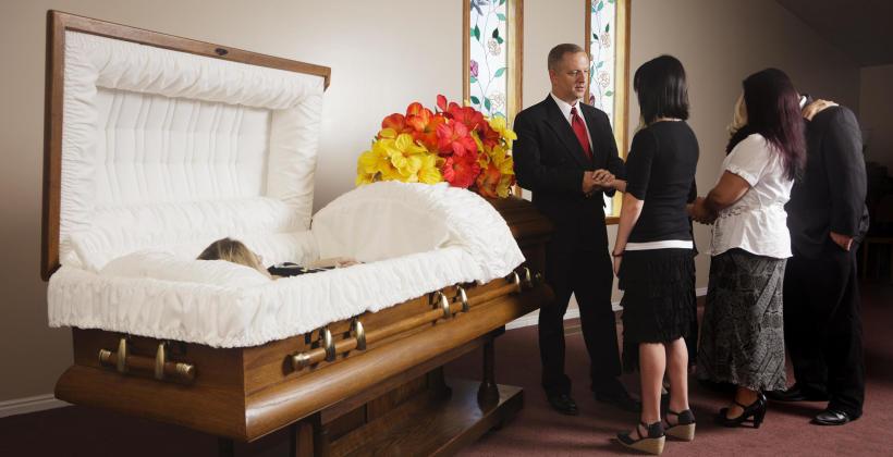 Na czym polega wizaż pośmiertny?
