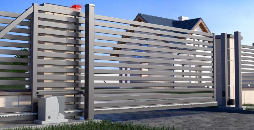 Nowoczesny dom jednorodzinny. Jakie ogrodzenie posesji wybrać?