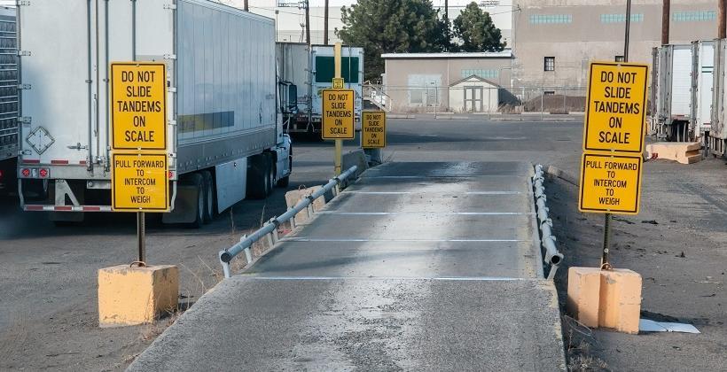 Wagi w transporcie i logistyce