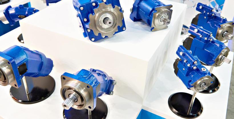 Silniki tłoczkowe w maszynach budowlanych i rolniczych