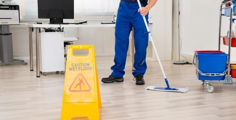 BHP w pracach sprzątających