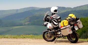 Bagaż motocyklisty