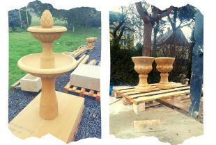Mała architektura ogrodowa – wybierz tę rzeźbioną w piaskowcu!