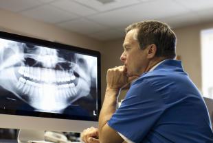 Diagnostyka radiologiczna jest często przeprowadzana w gabinetach stomatologicznych.