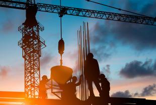 Wynajem urządzeń, maszyn i konstrukcji niezbędnych do prac budowlanych