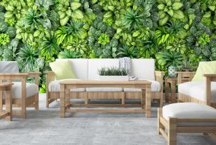 Drewniane inspiracje meblowe do ogrodu i domu