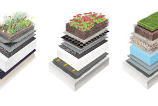 W jaki sposób wykonuje się dach zielony?