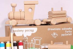 Kolorowy świat drewna dla Twojego dziecka!