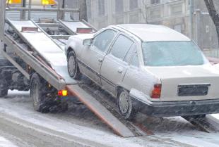 Jakie uszkodzone pojazdy są najczęściej holowane?
