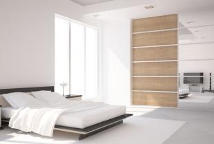 Piękna i funkcjonalna sypialnia