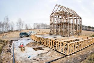 Dom w konstrukcji szkieletowej – czy warto?